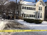 The four people found slain inside an upstate New York apartment house on Boxing day were found bound and with their throats slashed, according to police