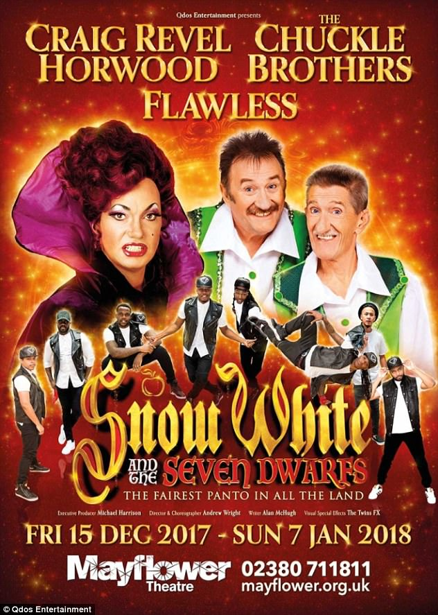 Who's the richest of them all?Strictly Come Dancing judge Craig Revel Horwood, 52, returns to the role of The Wicked Queen in Snow White and the Seven Dwarfs, for which he's getting £100K