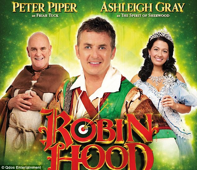 Competing shows: Coleen's ex-husband Shane Richie, 53, is set to score £120k for his turn as Robin Hood in Woking