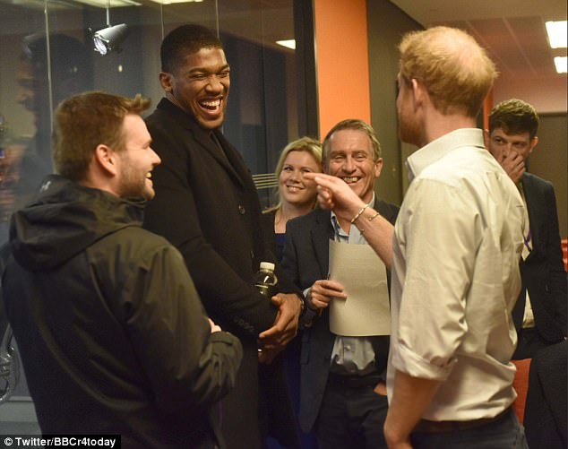 The Prince spoke with heavyweight boxing champion Anthony Joshua, who was also interviewed on the show