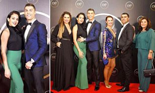 Ronaldo celebrates 2017 with special gala in his honour