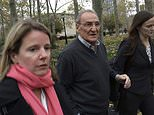 """FILE - In this Nov. 12, 2015, file photo, Vincent Asaro, center, leaves federal court in the Brooklyn borough of New York, after he was acquitted of charges he helped plan a legendary 1978 Lufthansa heist retold in the hit film """"Goodfellas."""" The legendary airport robbery has come back to haunt Asaro, an 82-year-old mobster who's been sentenced to eight years in prison for an unrelated road rage arson by a New York judge who cited the heist. He reacted to his sentencing Thursday, Dec. 28, 2017, with disgust, calling it a """"death sentence."""" (AP Photo/Mike Balsamo, File)"""