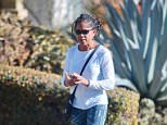 Mother of the bride:Doria Ragland was seen in Los Angeles on Thursday after spending the holiday away from her daughter Meghan Markle