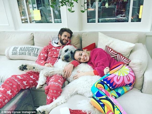 Clucky: Miley Cyrus and Liam Hemsworth are ready for 2018 to be 'the year they start a family', according to an NW magazine report on Thursday