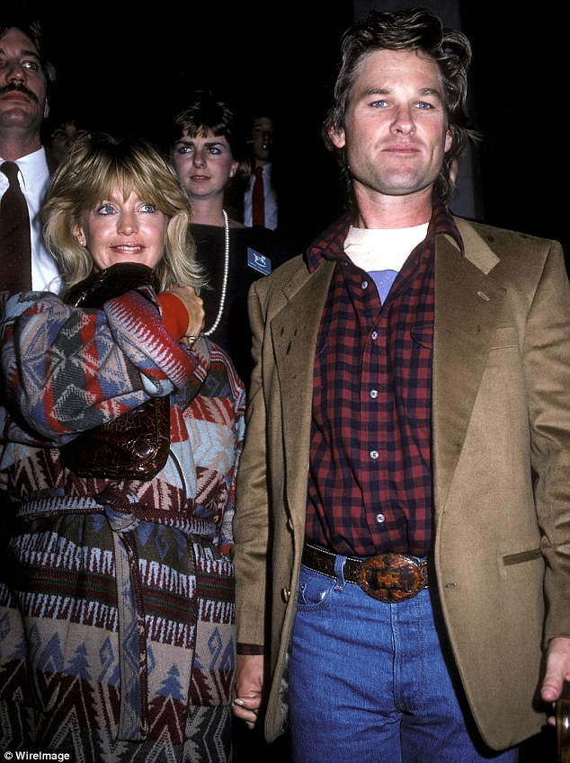 Going strong: Kurt and Goldie, shown in New York City in November 1986, have been together since 1983