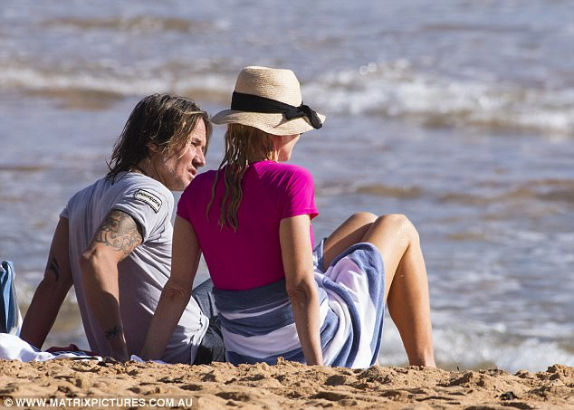 Staying for more summer fun?It's unsure how long the family intend to stay in Australia for