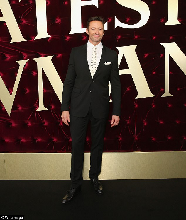 Relaxing time: He's just celebrated Christmas in his native Australia, after wrapping up the promotional tour for new film, The Greatest Showman