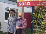 Rev Philip Clements, 79, pictured with his husband Florin Marin, 24, sold his home in Kent, pictured, for £214,750 before moving to Romania and buying a flat in Bucharest