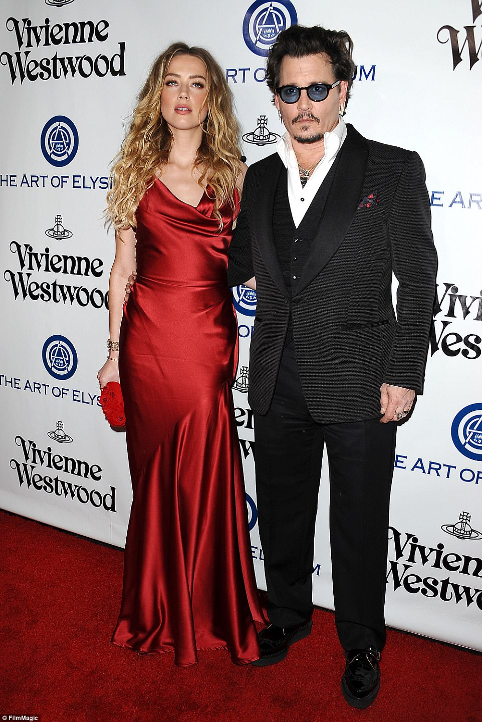 Flashback: Amber was in a tumultuous marriage to actor Johnny Depp; they wed in 2015; seen in January 2016 in Culver City at the Art Of Elysium's 9th Annual Heaven Gala at 3LABS