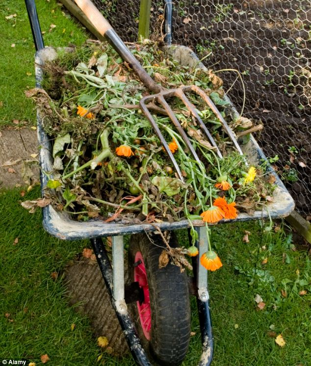 Weeds no longer need to be wasted after being dug up from the ground
