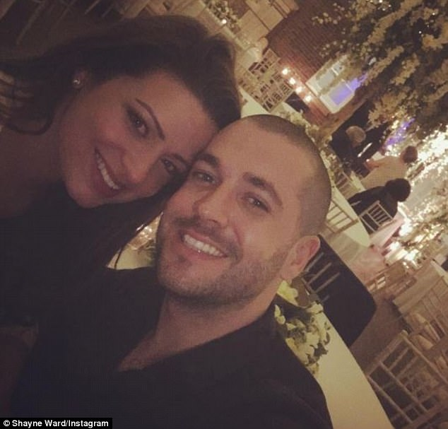 Cute couple:Sophie, who played serial killer Lindsey Butterfield in Hollyoaks for three years, and Shayne started dating last March, several months after the actress split from her husband Graeme Rooney