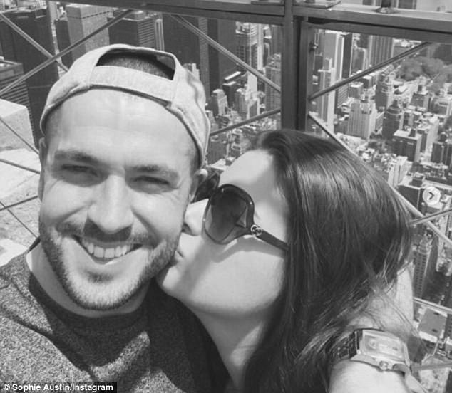 'New York flashback': The loved-up couple have gone from strength to strength since they welcomed their daughter