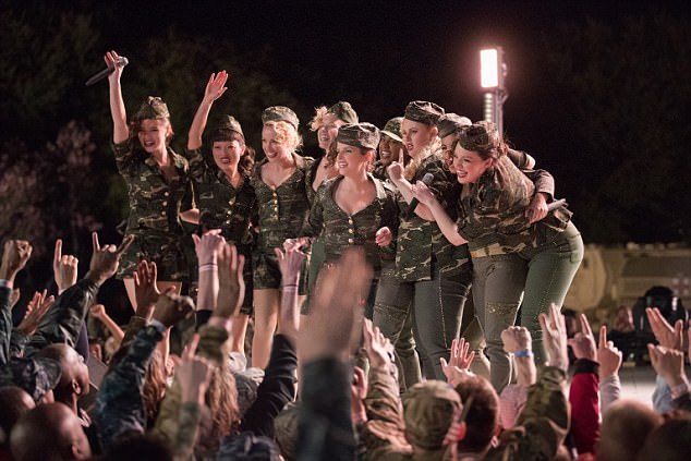 A hit: Her film Pitch Perfect 3 made $30m internationally on its opening weekend