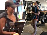 Harvard University freshman Malia Obama was spotted during a sweat session at Corepower Yoga in Kailua on Wednesday in a photograph by TMZ
