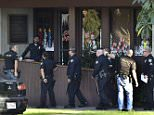 The gunman, who hasn't yet been identified, shot dead Major A Langer, 75, at Bixby Knolls Law office in Long Beach around 2.25pm