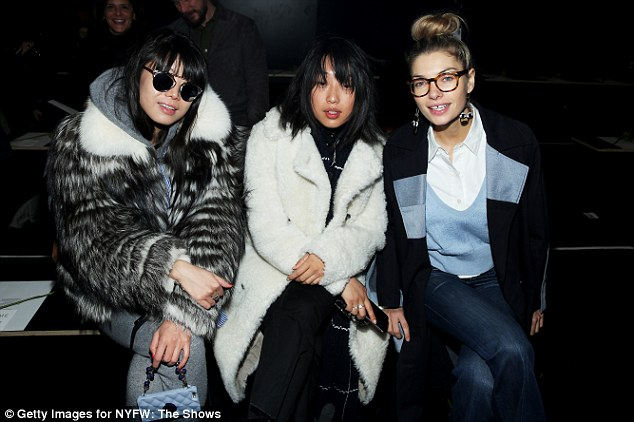 The 23-year-old is a fixture in the front row at all major fashion weeks across the globe
