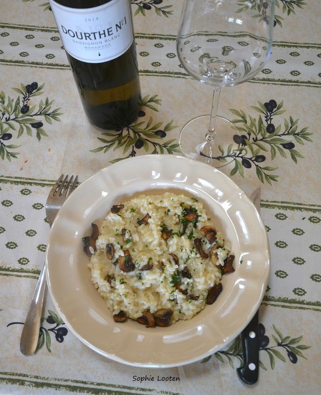 Risotto champignon2