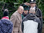The Duke of Edinburghis said to have cracked the edgy joke as he led a procession of royals and guests on a walk to the morning service at St Mary Magdalene church