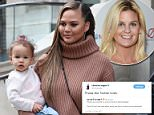 A right-wing conspiracy theorist has been stripped of her Twitter verification after she posted photos of Chrissy Teigen's daughter Luna and accused her of being part of a pedophile ring