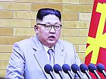 Kim Jong Un has boasted of having a 'nuclear button' on his desk as he warned the US that the entire country is within range of his weapons