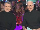 CNN host Anderson Cooper and Bravo personality Andy Cohen co-hosted CNN's New Year's Eve show, branded'New Year's Eve Live with Anderson Cooper and Andy Cohen'
