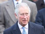 Prince Charles (pictured on Christmas Day) is doing less charitable work as he approaches his 70th birthday, according to accounts