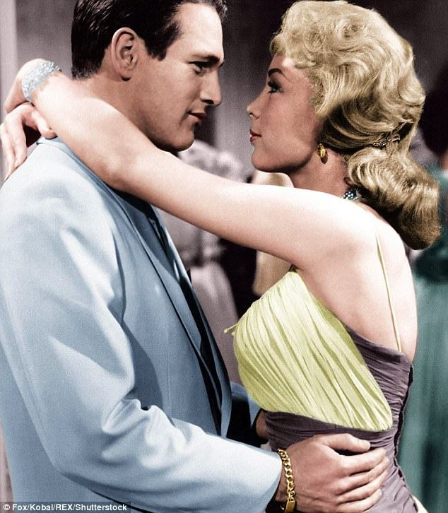 Paul Newman as Alfred Eaton (pictured left) with Barbara Eden in From The Terrace