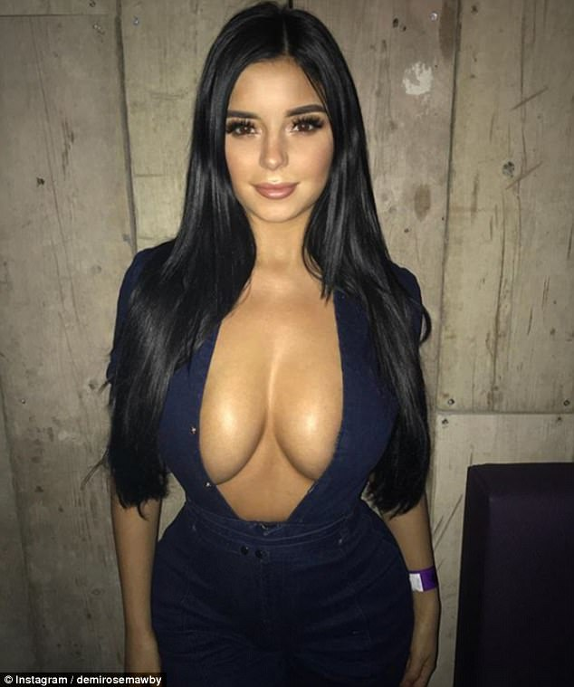 Another ex: Emily looks a lot like Tyga's earlier flame Demi Rose