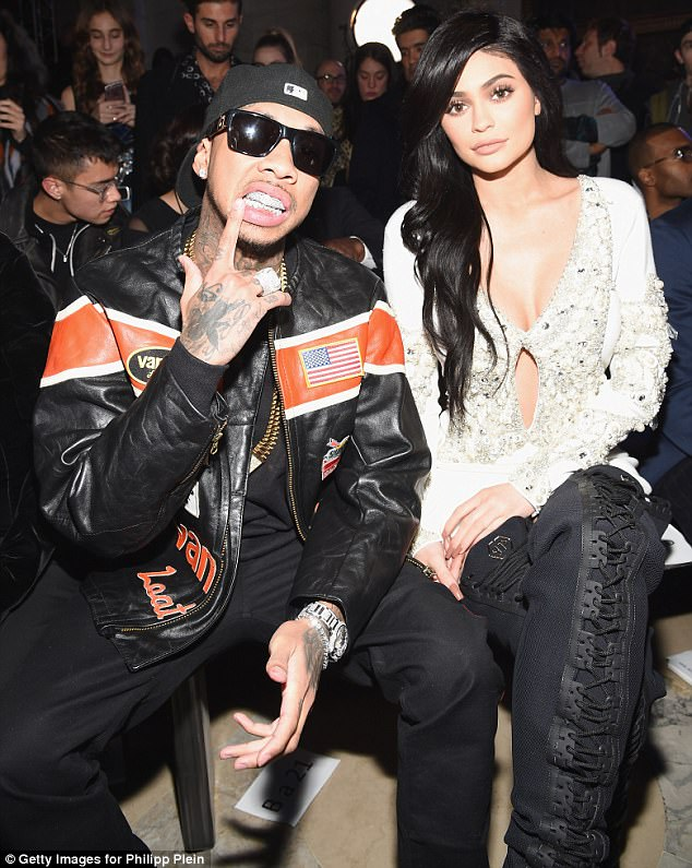 Not a match:Tyga dated Kylie on and off for nearly two years. The Calabasas native often said that they broke up and get back together but she doesn't want to share that with her fans because it was overwhelming. Seen in February