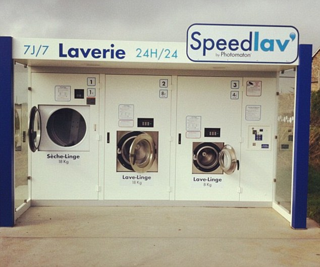 Launderettes are to be put in supermarket car parks as part of a new scheme