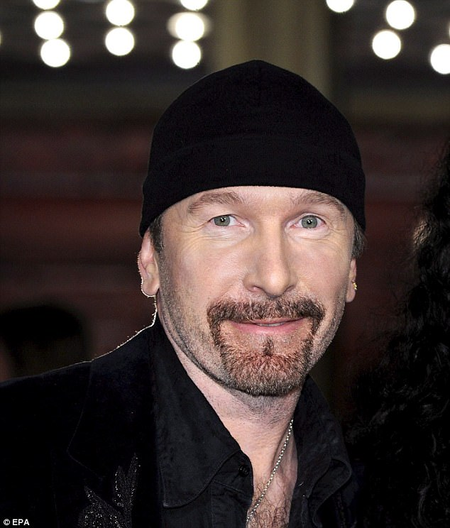 Speaking out:Last month, The Edge spoke about the seriousness of Bono's health scare, revealing: 'It was serious enough that he genuinely had a major fright'
