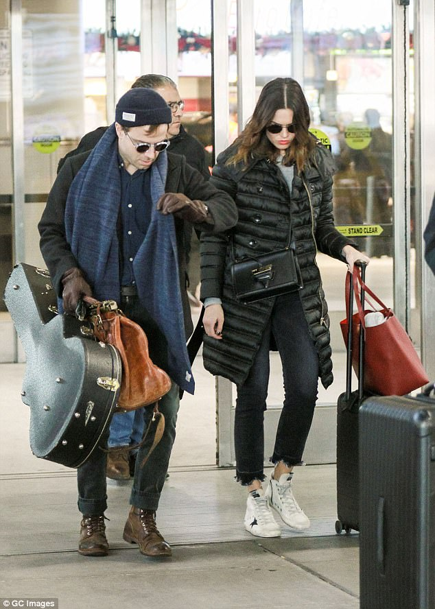 Pep:With a pep in her step, the This Is Us actress looked to be enjoying her traveling time with her new partner in life