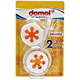 domol WC-Duftsteine 'Orange' 3x45g