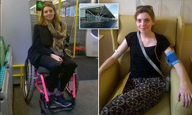 Sick passenger refused help to board plane at Stansted