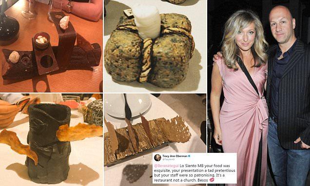 Tracy-Ann Oberman roasts Michelin-starred chef