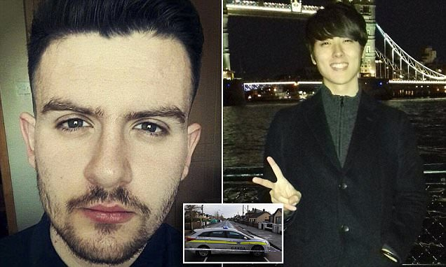 Japanese worker killed and Irish man stabbed pictured