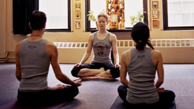 Yoga studio, meditation, teacher
