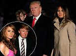 Excerpts from the new book 'Fire and Fury' claim that Donald and Melania could go days without seeing each other, even at their New York home at Trump Tower. They are pictured at Trump Tower in 2010