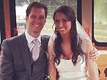 Caitlin Nugent Clancy  accuses her husband, Kevin Clancy, of cheating on her. They are seen on their wedding day above