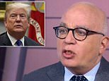 Author Michael Wolff said Friday that '100 percent' of the people around President Donald Trump question his intelligence and fitness for office, with some calling him a 'moron' and an 'idiot'