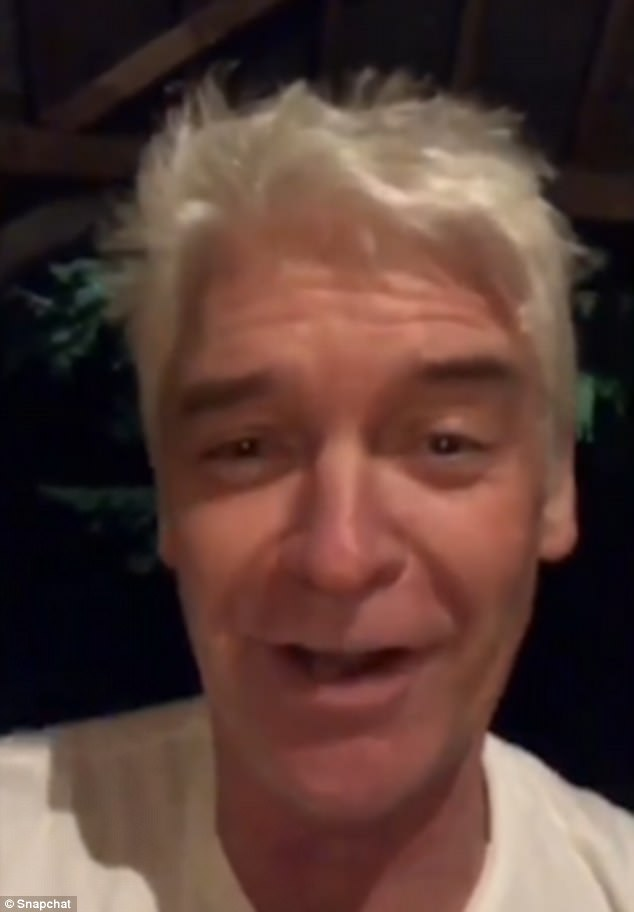 Driving him wild: Phillip Schofield was driven to brink of insanity by an alarm that began to go off after 20 years, this Christmas