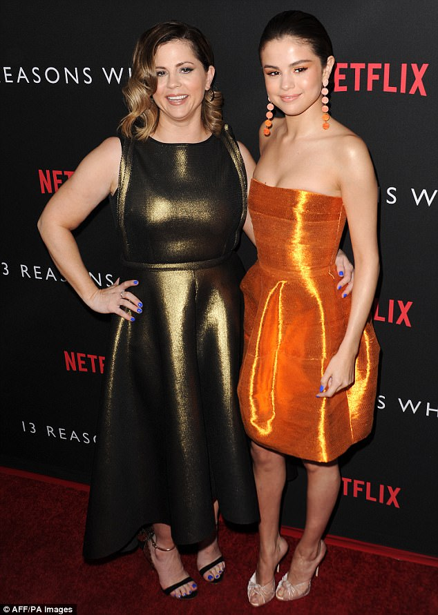 Torn:Selena Gomez, 25, and Mandy Teefey, 41, have allegedly had a 'strained' relationship for over three years after they parted ways as manager and client