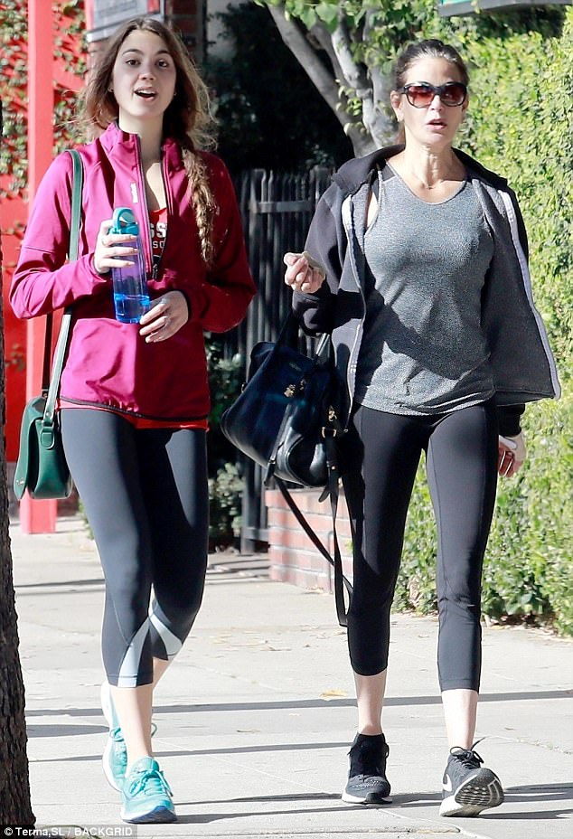 So fit: The mother-daughter duo love to eat delicious food, so they put time into the gym daily