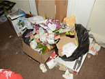 Services found out about the appalling conditions the children were living in after a school flagged up their absences