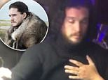 Kit Harington as Jon Snow is seen withEmilia Clarke as Daenerys Targaryen in Game of Thrones. The show's stars are among the highest paid in television
