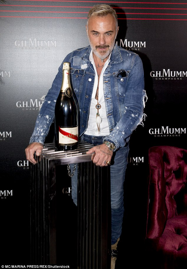 Hey big spender: He is known forshowing off his lavish lifestyle on yachts, planes and beaches to his 11.2 million followers - with an allegednet worth of £350 million