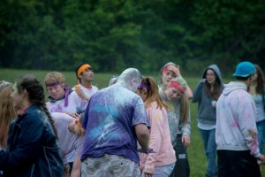color fight event