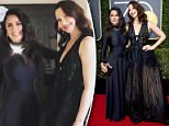 The Golden Globes are  the night of January 7 at the Beverley Hilton in Beverley Hills, California. Salma Hayek and Ashley Judd appeared on the red carpet after getting ready together