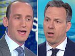 Stephen Miller reportedly had to be escorted from CNN's studios in Washington, DC on Sunday after his trainwreck interview with Jake Tapper