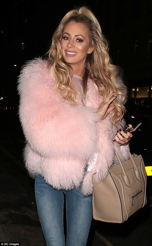 Turbulent time: Since leaving the Love Island villa, her relationship with Chris has been plagued by split rumours